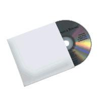 Kartonhülle, weiss, für 1 CD