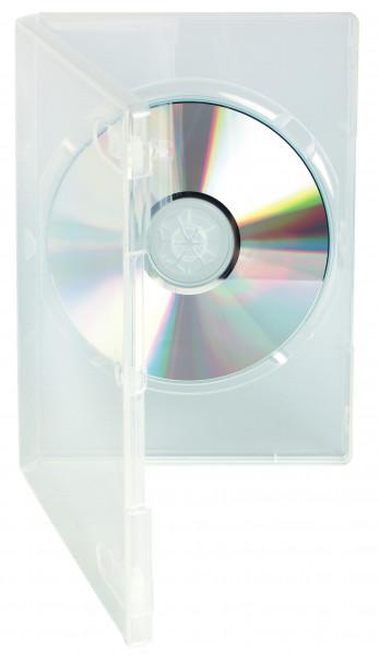 DVD Standardbox, transparent, mit Aussenhülle