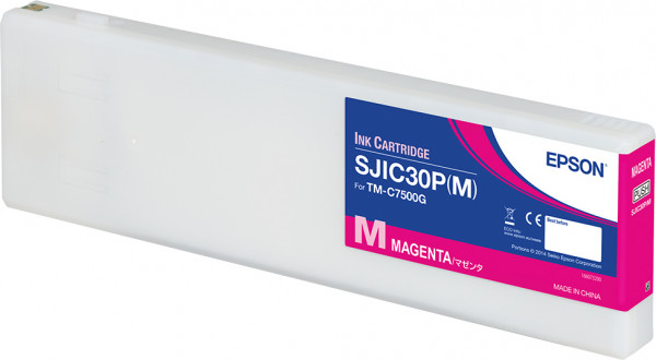 Epson Farbpatrone magenta (SJIC30PM) C7500G