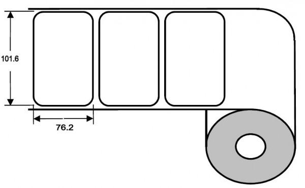 Eurebis 102x76mm Papier glanz, P/TK1, 1'000 Et/R