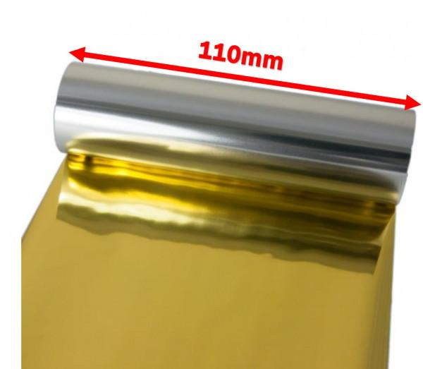 DTM 110mm x 200m Goldfolie Druckband