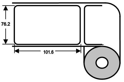 Eurebis 76x102mm Papier glanz, P/TK1, 700 Et/R