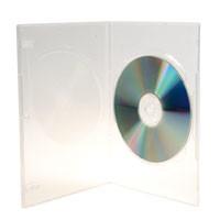 DVD SlimBox transparent, mit transparenter