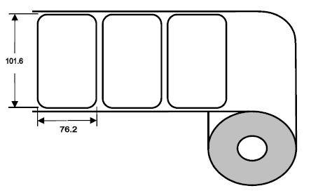 Eurebis 102x76mm PP glanz, P/TK1, 1'000 Et/R