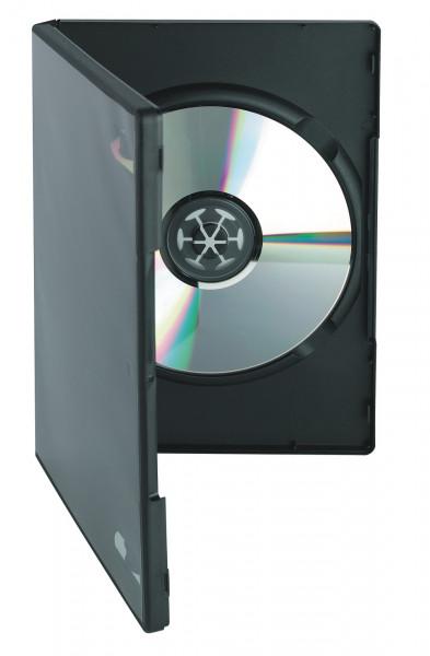 DVD Standard Box schwarz, mit Aussenhülle