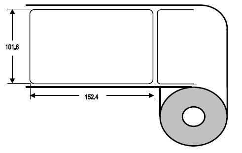 Eurebis 102x152mm PP glanz, P/TK1, 500 Et/R