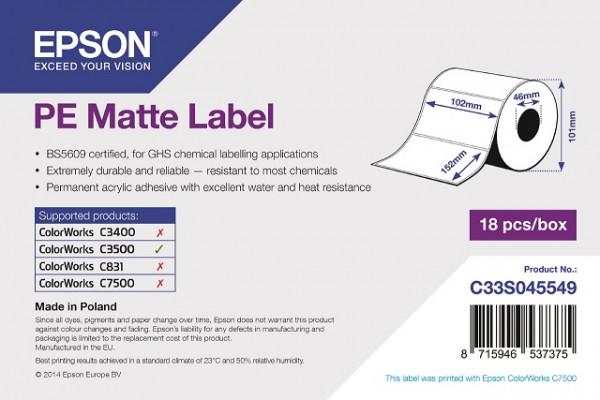 Epson 102x152mm PE matt, 185 Et/R (C33S045549)
