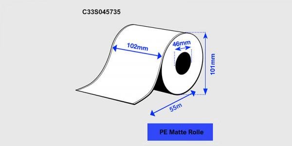 Epson 102mm x 55m PE matt (C33S045735)