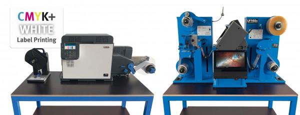 OKI Pro1050/DTM LF140e Bundle, Printer & Finisher