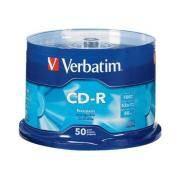 CD-R Verbatim 700MB, 52X, weiss Thermo (43756)