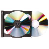 Doppel-CD Tray, schwarz (passend zu 20507)