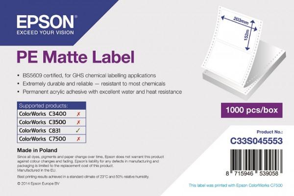 Epson 203x152mm PE matt, 1'000 Et/S (C831)