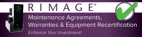 Rimage Allegro 100 Exchange Warranty 1. Jahr