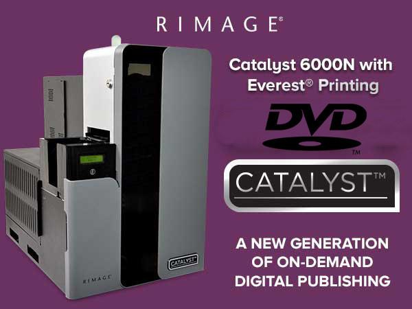 Rimage Catalyst 6000N 2xDVD Encore Printer