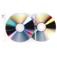 Doppel-CD Tray, transparent (passend zu 20507)