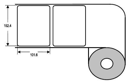 Eurebis 152x102mm Papier glanz, P/TK1, 750 Et/R