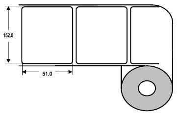 Eurebis 152x51mm Papier glanz, P/TK1 1'300 Et/R