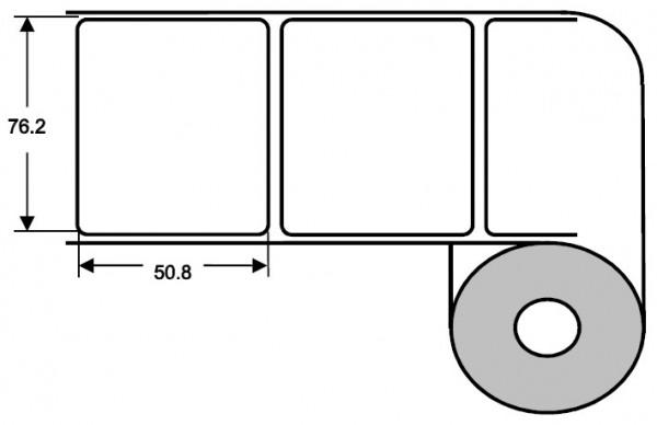 Eurebis 76x51mm PP glanz, P/TK1, 1'400 Et/R
