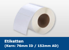 DTM 127x127mm Paper High Gloss, 500 Et/R