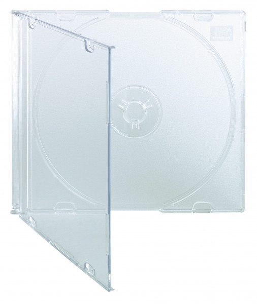 CD Slim Case (5mm), transparent,