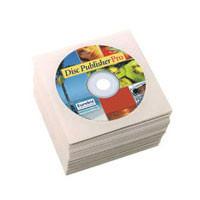 Papierhüllen, mit Fenster, weiss, 1000 Stk/Karton