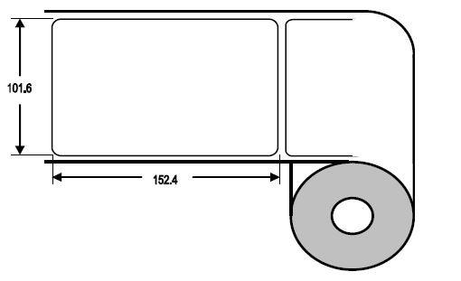Eurebis 102x152mm Papier glanz, P/TK1, 500 Et/R