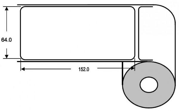 Eurebis 64x152mm Papier glanz, P/TK1, 530 Et/R