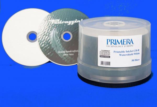 CD-R DTM 'WaterShield', weiss Inkjet glossy