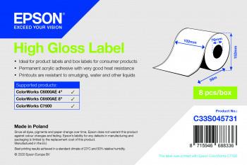 Epson 102mm x 57m Papier Premium glanz(C33S045731)