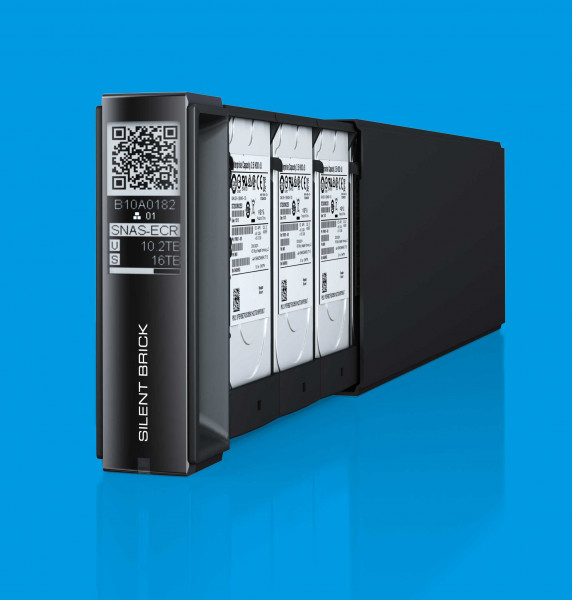 FAST LTA Silent Brick Container 12TB NAS/Backup