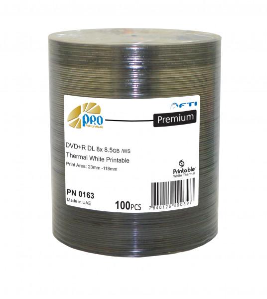 DVD+R DL FTI 'PREMIUM' 8.5GB, 8X, weiss Thermo