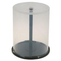Cake Box (Spindel) für 100 CD, schwarzer Boden