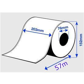 Epson 203mm x 57m Papier Premium glanz (C33S045729