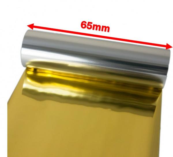 DTM 65mm x 200m Goldfolie Druckband